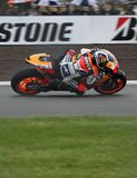 Dani Pedrosa Donington MotoGP 2009 Royalty Free Stock Photography