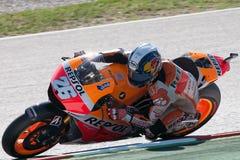 Dani Pedrosa Gran Premio di energia del mostro di Catalunya MotoGP Immagine Stock Libera da Diritti