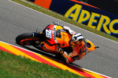 Dani Pedrosa HONDA MOTOGP 2010 Photos stock