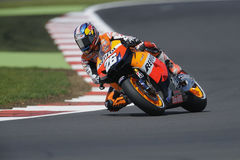 Dani pedrosa, moto gp 2012 Stock Photography