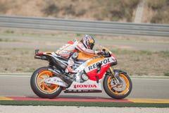Dani Pedrosa MotoGp Royaltyfri Bild