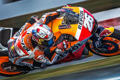 Dani Pedrosa, MOTOGP Brno 2015 Lizenzfreie Stockfotografie