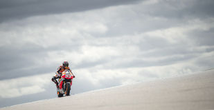 Dani Pedrosa MotoGp Royalty Free Stock Images