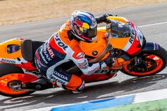 Dani Pedrosa pilot of MotoGP Stock Photography