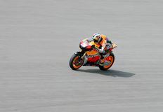 Dani Pedrosa of Repsol Honda Team Royalty Free Stock Images