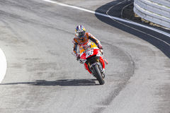 Dani Pedrosa of Repsol Honda team racing Royalty Free Stock Photos