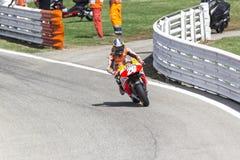 Dani Pedrosa of Repsol Honda team racing Royalty Free Stock Image