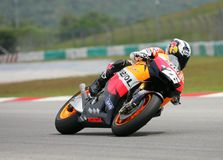Dani Pedrosa of Spain Royalty Free Stock Image