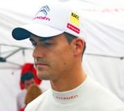 Dani Sordo at Moscow City Racing Stock Image