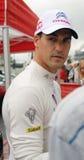 Dani Sordo på Moskvastaden Racing Arkivfoton