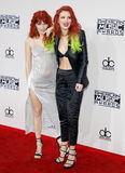 Dani Thorne and Bella Thorne Royalty Free Stock Photo