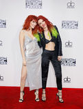 Dani Thorne and Bella Thorne Stock Image
