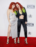 Dani Thorne and Bella Thorne Stock Photography