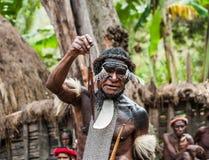 Dani tribe Warriors. Stock Photos
