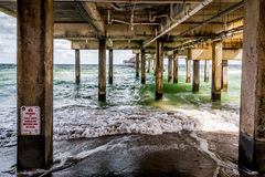 Dania Beach Pier immagine stock