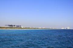 Haven Everglades van Strand dat Dania wordt gezien Stock Afbeeldingen