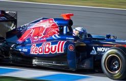 Danial Ricciardo - F1 Test Jerez 2012 Royalty Free Stock Image
