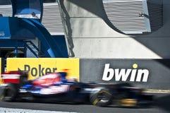 Danial Ricciardo - F1 Test Jerez 2012 Stock Images