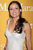 Danica McKellar arrives at the City of Hope's Music And Entertainment Industry Group Honors Bob Pittman Event Stock Photo
