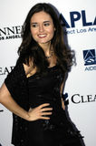 Danica McKellar on the red carpet. Stock Photos