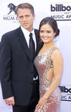 Danica McKellar and Scott Sveslosky. At the 2015 Billboard Music Awards held at the MGM Garden Arena in Las Vegas, USA on May 17, 2015 Stock Photos
