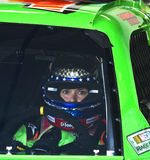 Danica Patrick. NASCAR driver Danica Patrick about ready to take a lap at the Daytona International Speedway Stock Photography