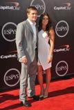 Danica Patrick et Ricky Stenhouse Jr Image stock