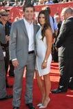 Danica Patrick et Ricky Stenhouse Jr Image libre de droits