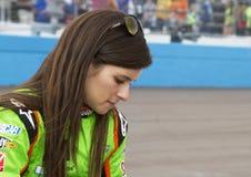 NASCAR sprintar kuper och rikstäckande Danica Patrick Fotografering för Bildbyråer