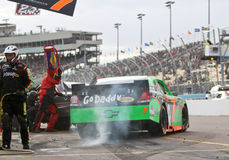 Danica Patrick Pit Stop Royalty Free Stock Images