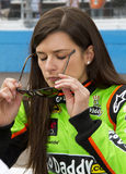 Tazza di sprint di NASCAR e Danica Patrick nazionale Immagine Stock