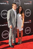 Danica Patrick & Ricky Stenhouse Jr Imagem de Stock