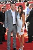 Danica Patrick & Ricky Stenhouse Jr Fotografia de Stock