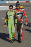 Danica Patrick and Ricky Stenhouse Stock Photography