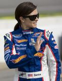Danica Patrick at the track Stock Image