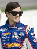 Danica Patrick at the track Royalty Free Stock Photo