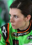 Danica Patrick at track Royalty Free Stock Image