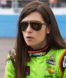 NASCAR sprinten Schale und nationale Danica Patrick Stockfoto