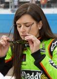 NASCAR sprinten Schale und nationale Danica Patrick Stockbild