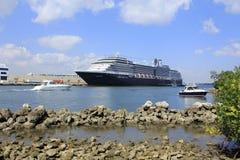 Portowe błota łodzie, statek i Zdjęcie Stock