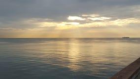 Danie plaża Obrazy Royalty Free