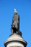 Daniel 0 ' Connoll con il piccione Fotografia Stock