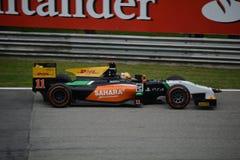 Daniel Abt 2014 GP2 series Monza Fotografía de archivo