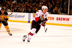 Daniel Alfredsson Ottawa Senators Royalty Free Stock Photo