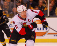 Daniel Alfredsson Ottawa Senators Royalty Free Stock Photography