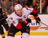 Daniel Alfredsson Ottawa Senators Royalty Free Stock Photography