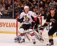 Daniel Alfredsson Ottawa Senators Royalty Free Stock Images