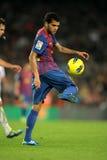Daniel Alves de FC Barcelona Foto de archivo libre de regalías