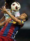 Daniel Alves of FC Barcelona Royalty Free Stock Photos