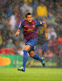 Daniel Alves of FC Barcelona Stock Photo